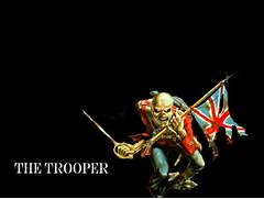 The Trooper by misterjamez on DeviantArt  Iron Maiden Trooper Wallpaper