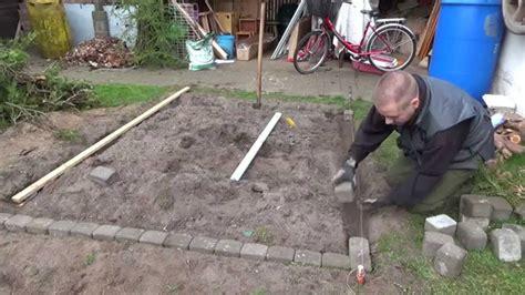 gewaechshaus aufbauen teil  youtube