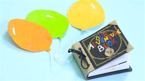 libro de aventuras  mini libro scrapbook craftingeek