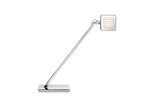 The kelvin led desk lamp is equipped with a sensor that measures the room light and automatically adjusts the lamp's light intensity to it to save and use energy in an ideal way. Buy the Flos Mini Kelvin LED Desk Lamp at nest.co.uk