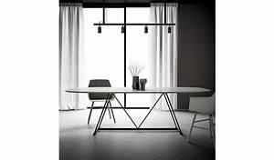 Table Ovale Design : table ovale radar dall agnese espace steiner design contemporain ~ Teatrodelosmanantiales.com Idées de Décoration