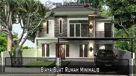 biaya buat rumah minimalis arsip jasa desain rumah jasa