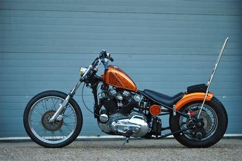 Harley Davidson Ironhead Sportster Bobber Chopper