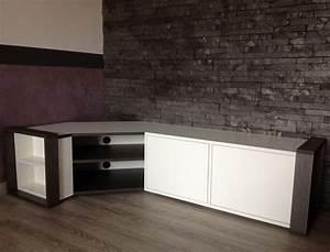 Meuble Bas Chambre : meuble tv living ~ Teatrodelosmanantiales.com Idées de Décoration