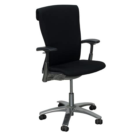 Office Chairs Knoll by Knoll Used Knit Back Task Chair Black National