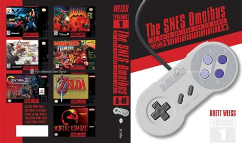 Review The Snes Omnibus The Super Nintendo And Its Games