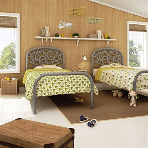 Footboards Only by Amisco Alba Metal Headboard Footboard Only Size 39