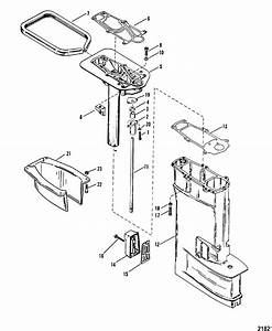 Driveshaft Housing Assembly For Mariner    Mercury 20 H P