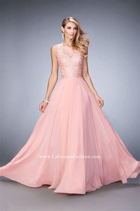 gigi  la femme  chiffon gown  beaded lace