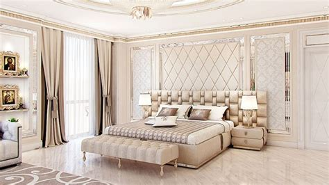 bedroom interior design in dubai by luxury antonovich design
