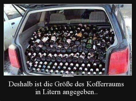 bier lustig witzig sprueche bild bilder kofferraum  liter