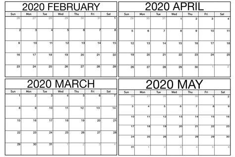 blank february march calendar    calendars