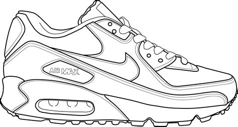 Coloring Nike Air 1 by Basket Nike Dessin