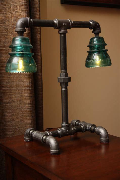 Black Iron Pipe Lamp Diy