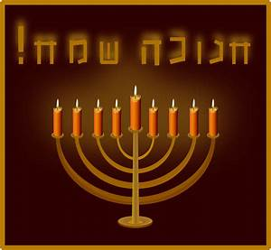 Clipart - Happy Hanukkah