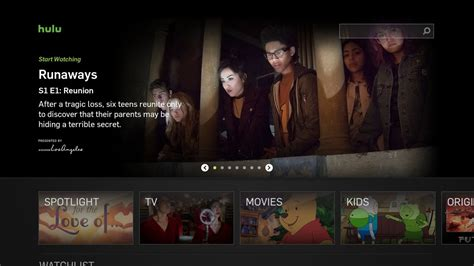 hulu s updated interface and live tv service available on
