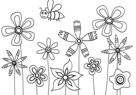 Black Eyed Susan Coloring Pages