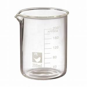 Small Glass Beaker Decor
