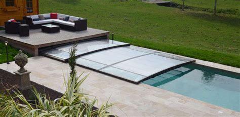 abri de piscine plat woestelandt piscines