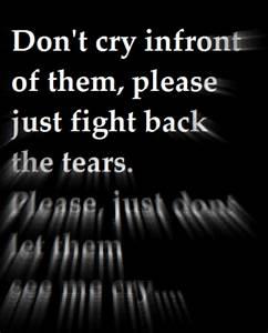 hold back the tears on Tumblr