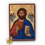 Nioras Byzantine Jesus Orthodox Icon Christ Angels