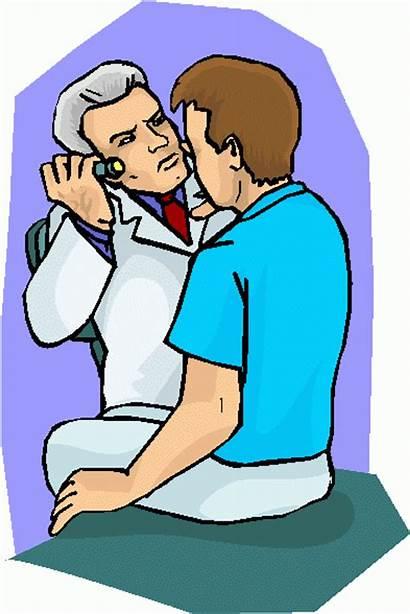 Exam Doctor Clipart Examination Clip Eye Physical