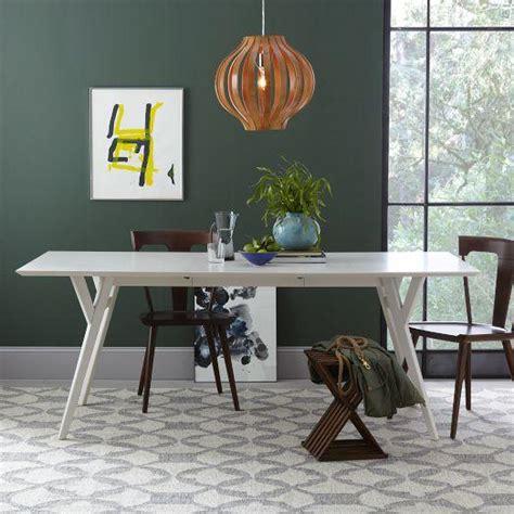 west elm mid century table parker mid century expandable dining table west elm