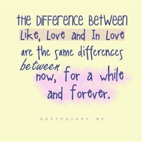 Awesome Inspiration Quotes The Difference Between Like
