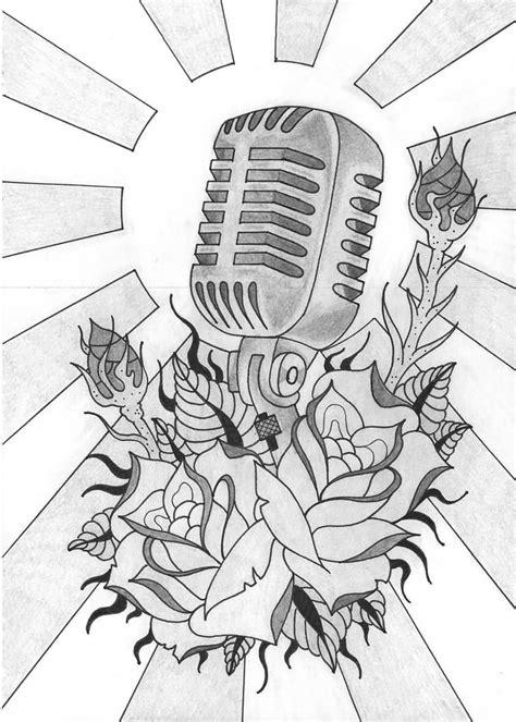 bildergebnis fuer vintage microphone drawing tattoos