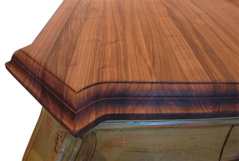 wood countertops expanded corners  grothouse