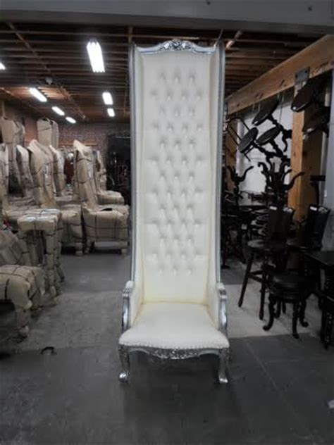 king and chair rental throne chair white 8