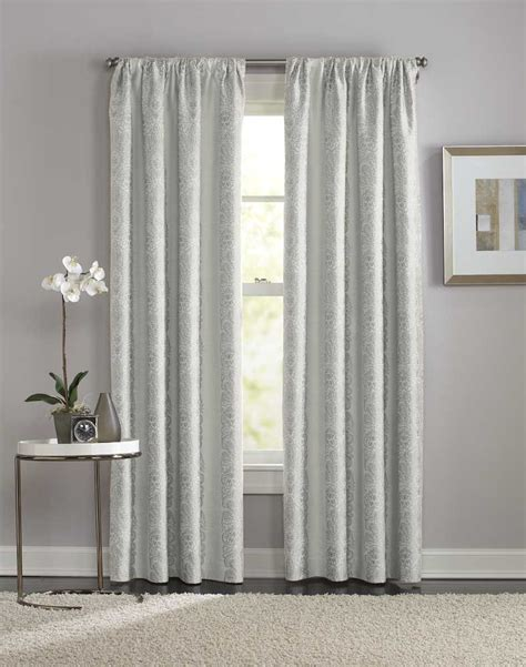 Pole Top Drapes - manchester damask pole top curtain panel curtainworks
