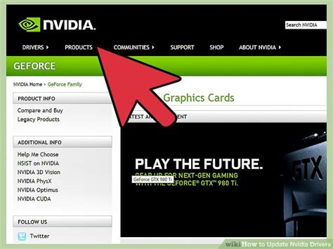 3 Ways To Update Nvidia Drivers Wikihow