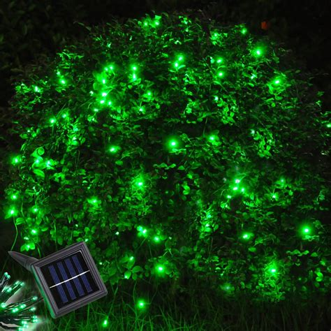 60 led string solar light outdoor garden wedding