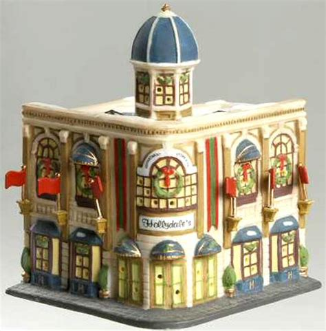 department 56 in the city retired hollydale s department store new department dept 56