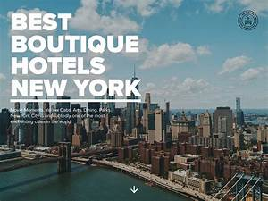Best Boutique Hotels New York ⋆ Cssfox Nominee on 7 Mar