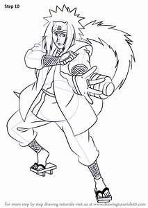 Learn, How, To, Draw, Jiraiya, From, Naruto, Naruto, Step, By