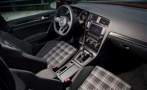 golf 7 gtd interieur car and driver