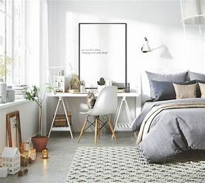 1001 idees pour une chambre scandinave stylee for Idee deco cuisine avec deco chambre style scandinave