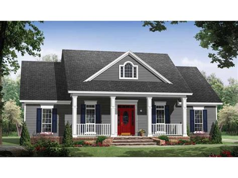 houses with big porches small country home with large porches hwbdo69623 country