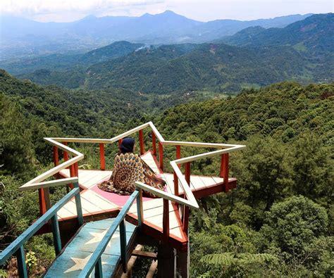 wisata pabangbon bogor   spot hits  berfoto