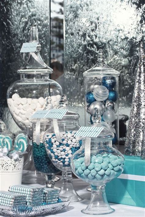white silver christmas decorating theme 35 silver and blue d 233 cor ideas for christmas and new year digsdigs