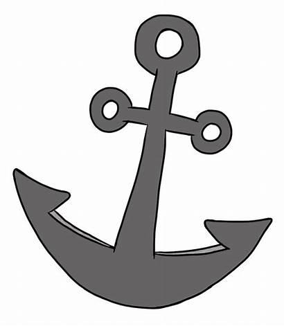 Anchor Pirate Freebie Doodles Clip