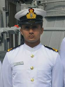 Indian Navy Officer Died In An Accidental Firing