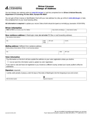 Change your address with the kansas dmv. Printable change of address on driver s license - Edit ...