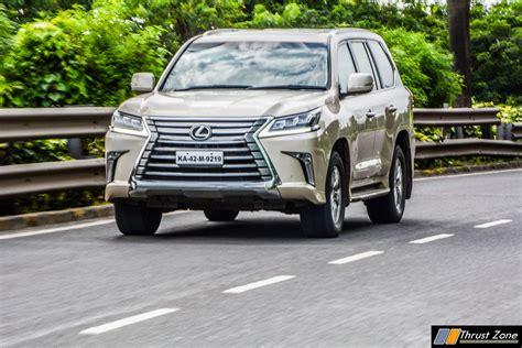 Review Lexus Lx by 2018 Lexus Lx Diesel India Review Drive