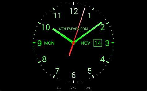 Digital Live Wallpaper by Analog Clock Live Wallpaper 7 Apk Baixar Gr 225 Tis
