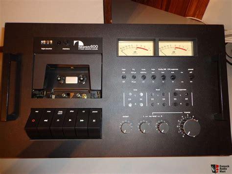 nakamichi 600 cassette deck great condition nakamichi 600 cassette deck photo 525608