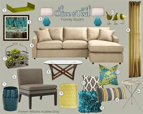 Teal Gold Living Room Ideas by Cultivate Create Wall