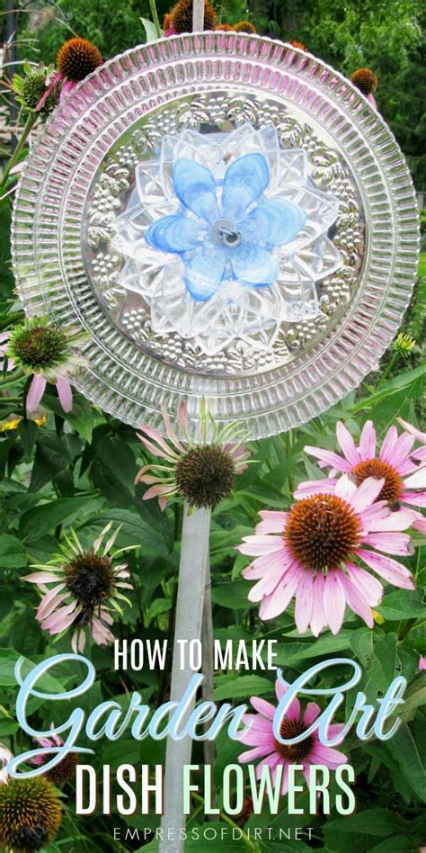 Garden Using Plates by 1662 Best Garden Junk Decor Images On